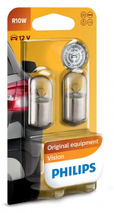 Philips signal lamps R10W Vision12V 2 pcs in blister