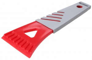 Premium Parts ice scraper polycarbonate 17 cm grey/red