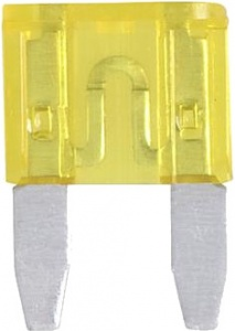 ProPlus auto fuses mini 20A yellow 6 pieces