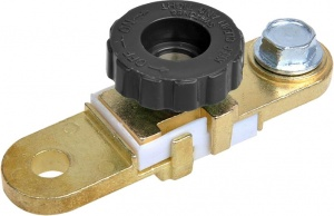 ProPlus battery clamp (-) with circuit breaker flat