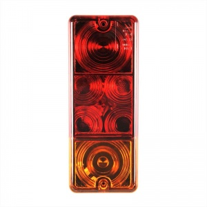 ProPlus achterlicht 3 functies 21 x 8,5 cm rood in blister