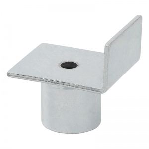 ProPlus adapter for pot jack with raised edges 6 cm silver