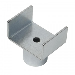 ProPlus adapter for pot jack for caravans steel silver