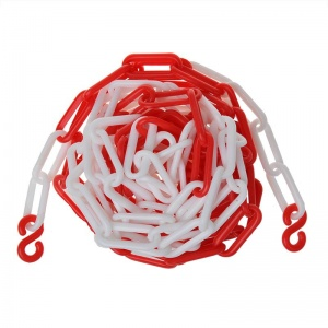 ProPlus plastic red/white cord 5 meters