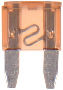 ProPlus auto fuse mini 5A light brown per piece