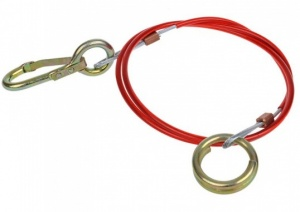 ProPlus breakage cable for overrunning brake 100 cm red