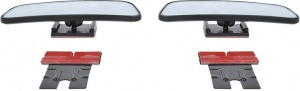 ProPlus blind spot mirrors square 95 x 36 mm 2 pieces