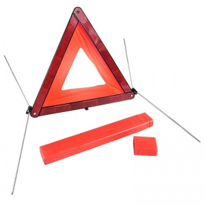 ProPlus Hazard triangle E-tested 44 cm red