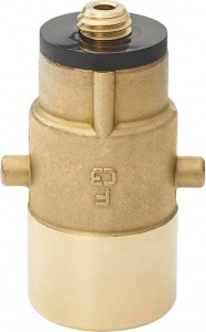 ProPlus LPG nippel Bajonet 10 mm messing goud in blister