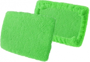ProPlus microfibre cloths for window cleaner green