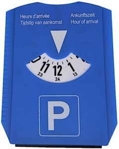 ProPlus parking disc with scraper 3-in-1 15.5 x 12 cm blue