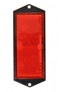 ProPlus reflector 104 x 40 mm red