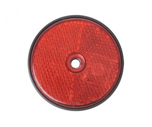 ProPlus reflector rond 60 mm rood