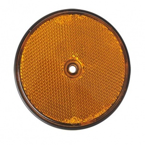 ProPlus reflector rond 80 mm oranje