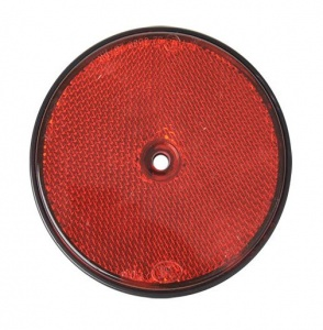 ProPlus reflector rond 80 mm rood