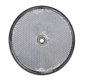 ProPlus reflector rond 80 mm wit