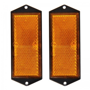 ProPlus reflectoren 104 x 40 mm oranje 2 stuks in blister