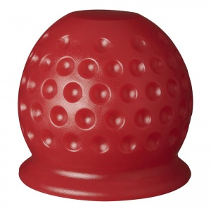 ProPlus hook cap plastic golf ball 7 cm red