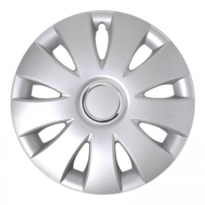 ProPlus hubcap Aura 16 inch ABS silver per piece