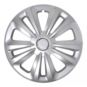 ProPlus hubcap Terra 13 inch ABS silver each