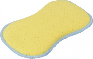 Protecton 2-in-1 sponge 15 x 10 x 2 cm blue/yellow