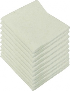 Protecton polishing cloths 38 x 34 cm synthetic white 10 pieces