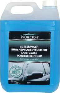 Protecton windscreen washer fluid antifreeze -40 ° C concentrate 5L