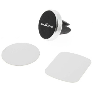 Pulse magnetic phone holder 2.5 cm black 3-piece