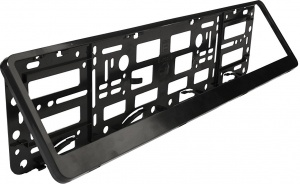 Race Sport license plate holder 525 x 132 mm ABS black
