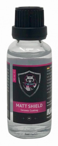 Racoon lakbescherming Matt Shield Ceramic Seal 30 ml zwart/roze