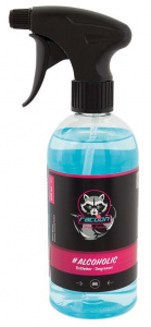 Racoon ontvetter Alcoholic Cleaner 500 ml lichtblauw