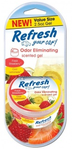 Refresh Your Car Gel Can strawberry & lemonade