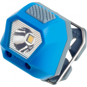 Rubytec headlight Owl Mini24 lumens 5 positions 3.6 cm ABS blue