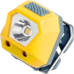 Rubytec headlight Owl Mini24 lumens 5 positions 3.6 cm ABS yellow