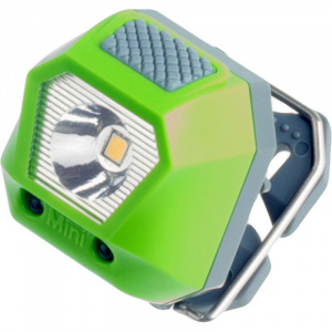 Rubytec headlight Owl Mini24 lumens 5 positions 3.6 cm ABS green