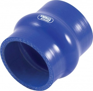 Samco Sport silicone bellows hose Ø45mm 76mm straight blue