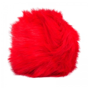 Simoni Racing gearknob cover Fluffy Furuniversal red