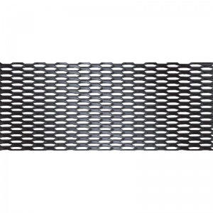 Simoni Racing racing gauze honeycomb mesh 100 x 30 cm (5x9 mm) black