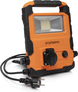 Smartwares foldable worklight FCL-76008led 20 Watt black/orange