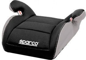 Sparco booster seat group 2-3 black / gray