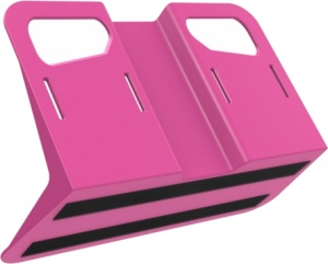 Stayhold Metro bagagesteun 34,5 x 14 x 19 cm roze