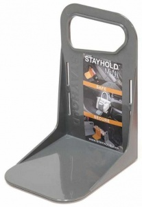 Stayhold Mini luggage support 12 x 14 x 19 cm gray