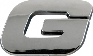 Sumex glue letter G chrome 25 x 15 mm each
