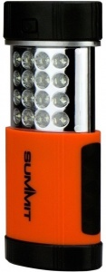 Summit Arbeitslicht LED 10,5 cm schwarz / orange