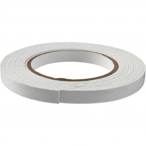 Creotime 3D foam tape 5 m x 12 mm white