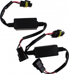TOM xenon EMC interference cables for car radio 2 pieces