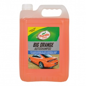 Turtle Wax 52817 Big Orange shampoo 5 Ltr