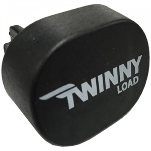 Twinny Load end cap for aluminium roof racks black each