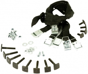 Twinny Load Mounting kit for e-Base black 42-piece