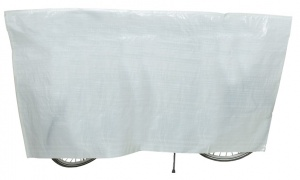 VK bike cover 210 x 110 cm white